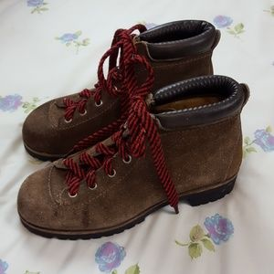 Vintage Vasque Leather Hiking Boots